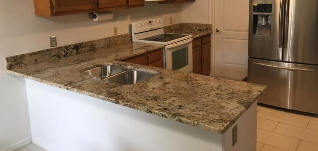 Richmond, VA - Another successful Golden Crema counter install!