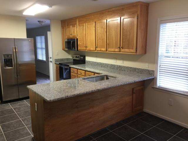 Chesterfield, VA - Referrals are the best advertisment a company can ask for.  This client, referred by a previous client, purchased her new kitchen granite counters.  She loves her new counters and will be referring her mom to our company.