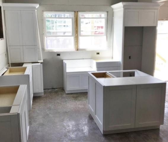 Richmond, VA - This white shaker kitchen we just installed is on it's way to be a stunner!