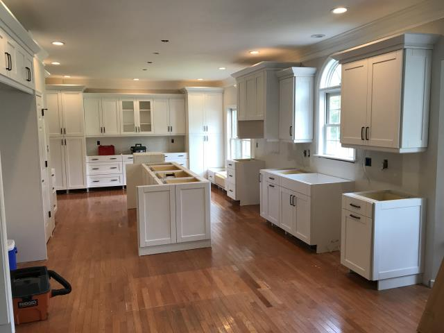 Ashland, VA - I can't wait for this kitchen to be completed.  It is going to be like a kitchen you see in magazines.   I look forward to the photos after everything is installed.