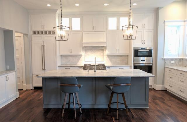 Richmond, VA - This is definitely one of our all time favorite kitchens we've had the pleasure to design and install! The homeowners selections are absolutely stunning!!