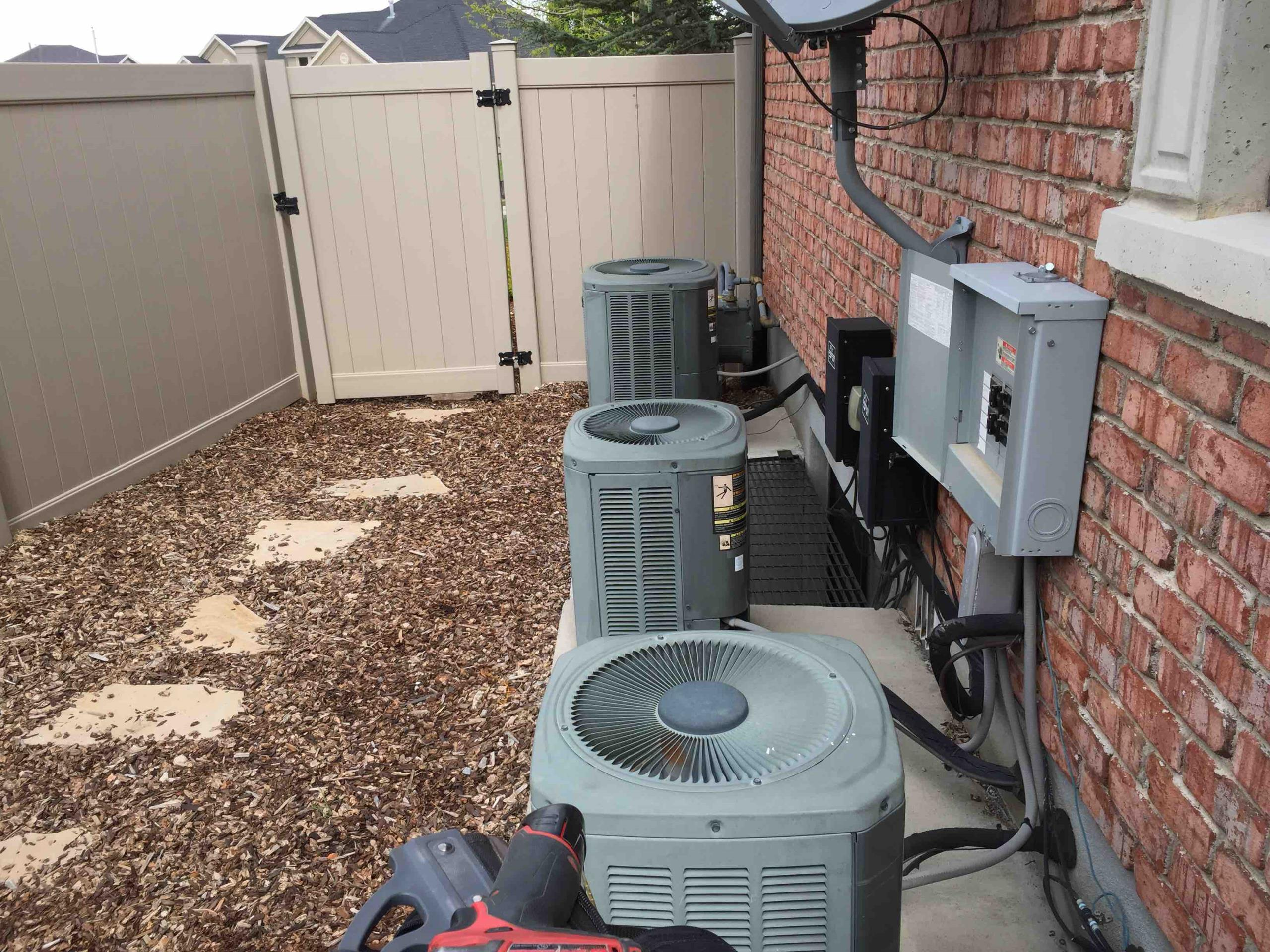 Bountiful, UT - annual maintenance on 4 trane air conditioner
