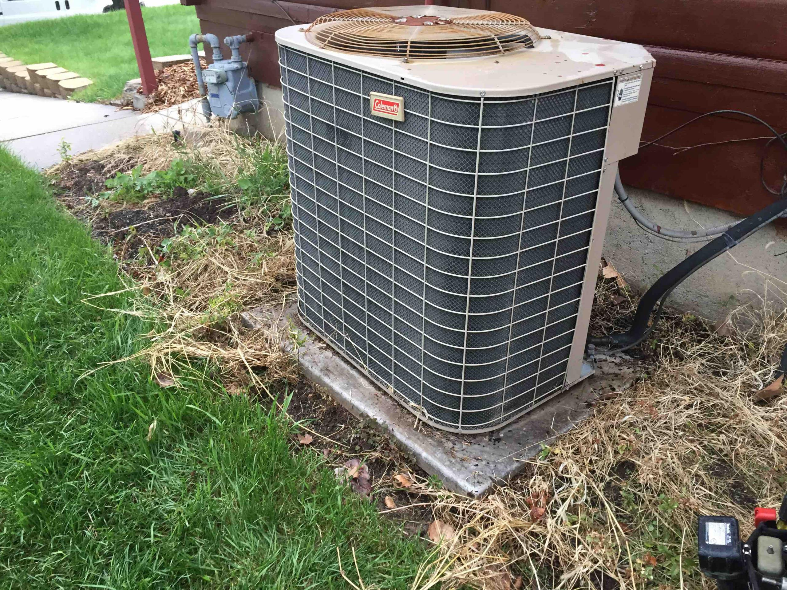 Bountiful, UT - Annual maintenance and cleaning on a York air condition