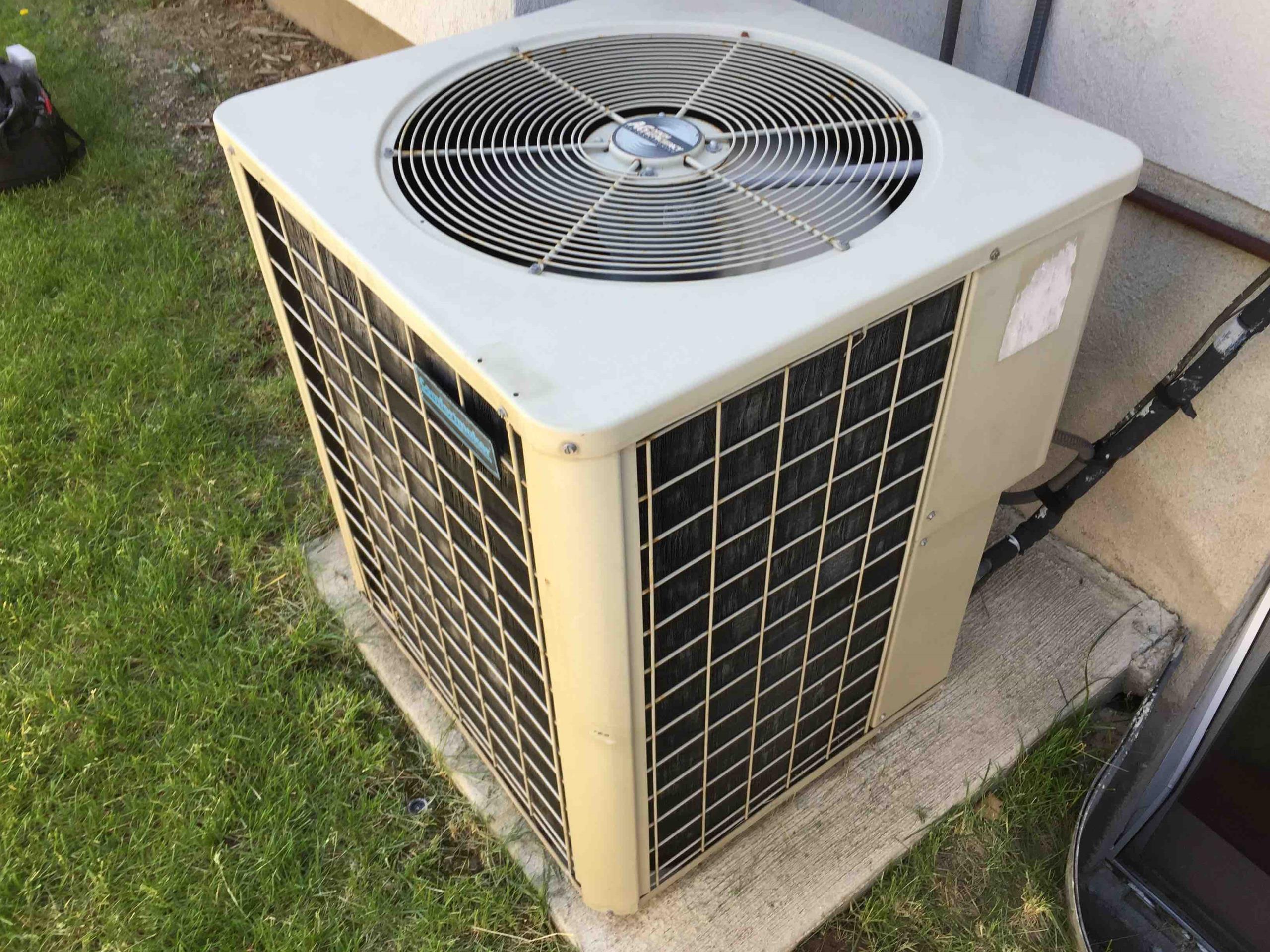 Cottonwood Heights, UT - servicing a Comfortmaker Air Conditioner