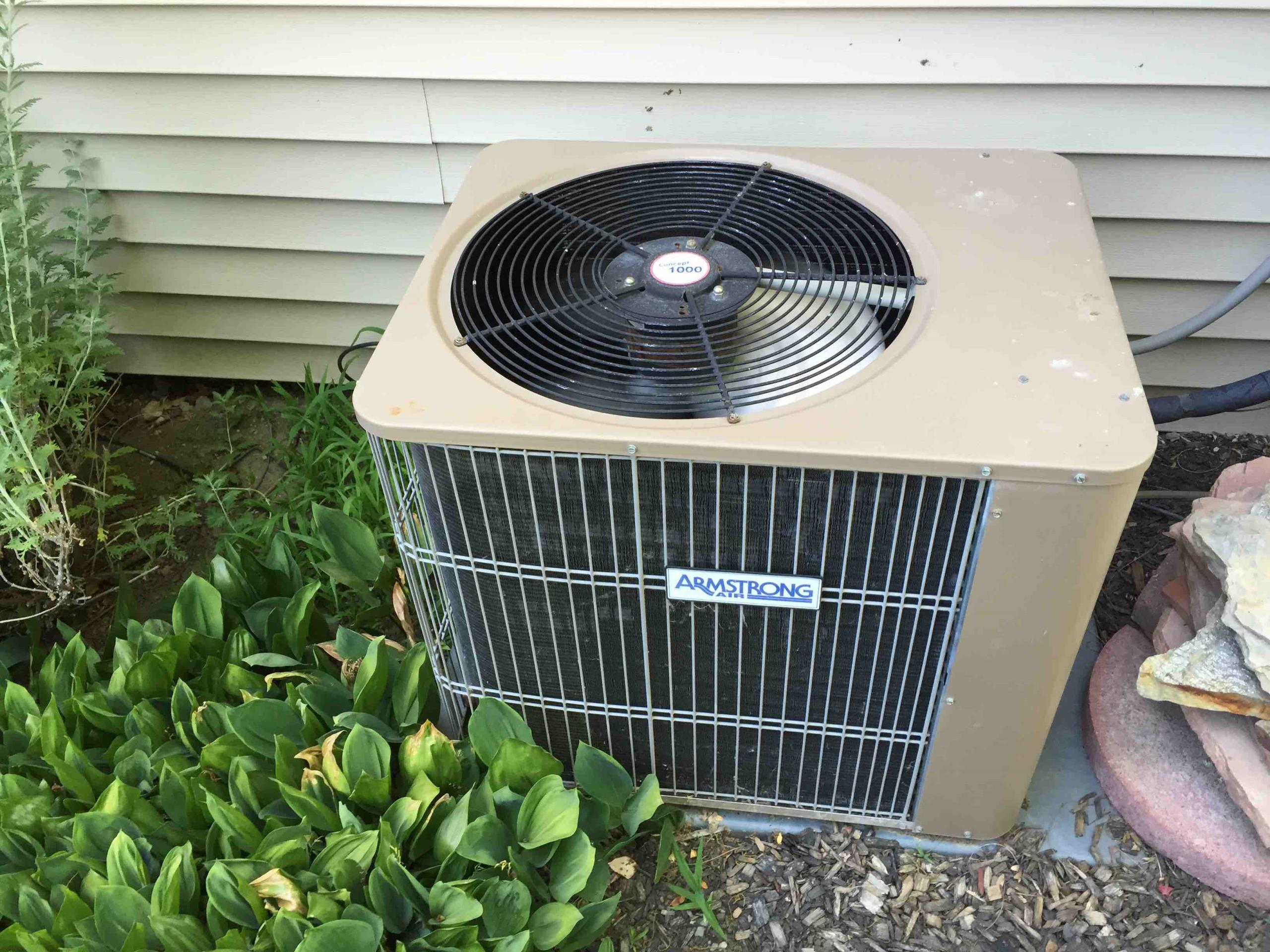 Holladay, UT - annual maintenance on a Armstrong air conditioner