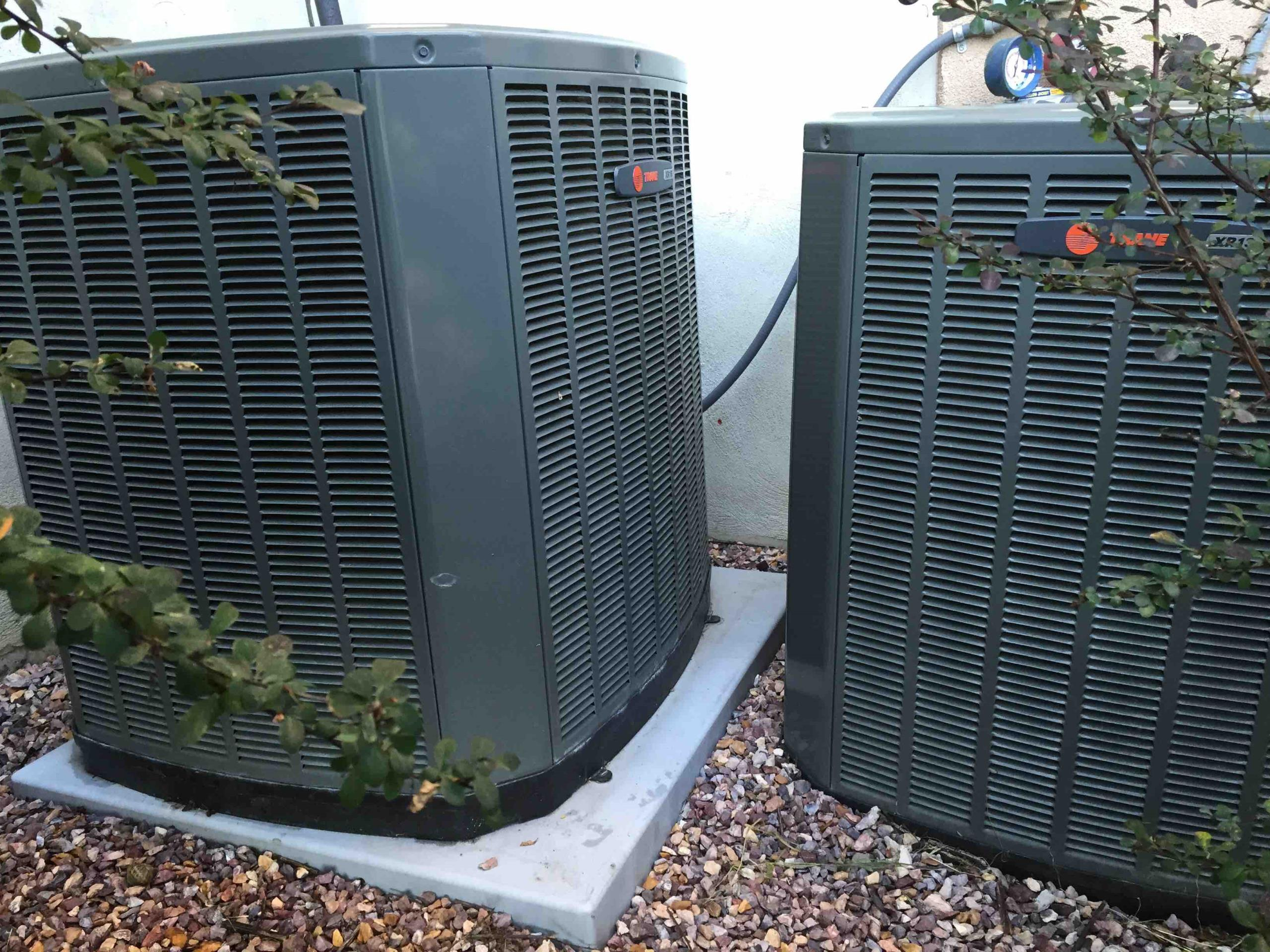 Draper, UT - Clean and service Trane air conditioners
