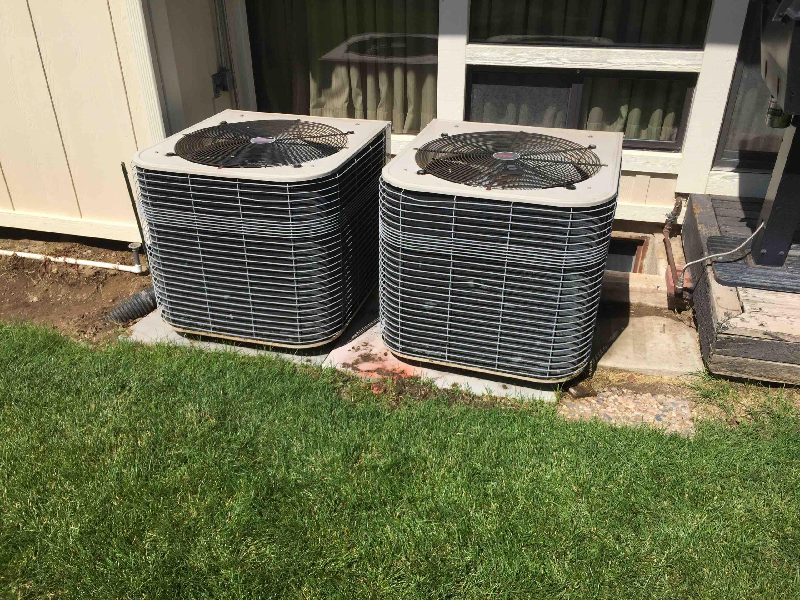 Bountiful, UT - servicing two Lennox Air Conditioners