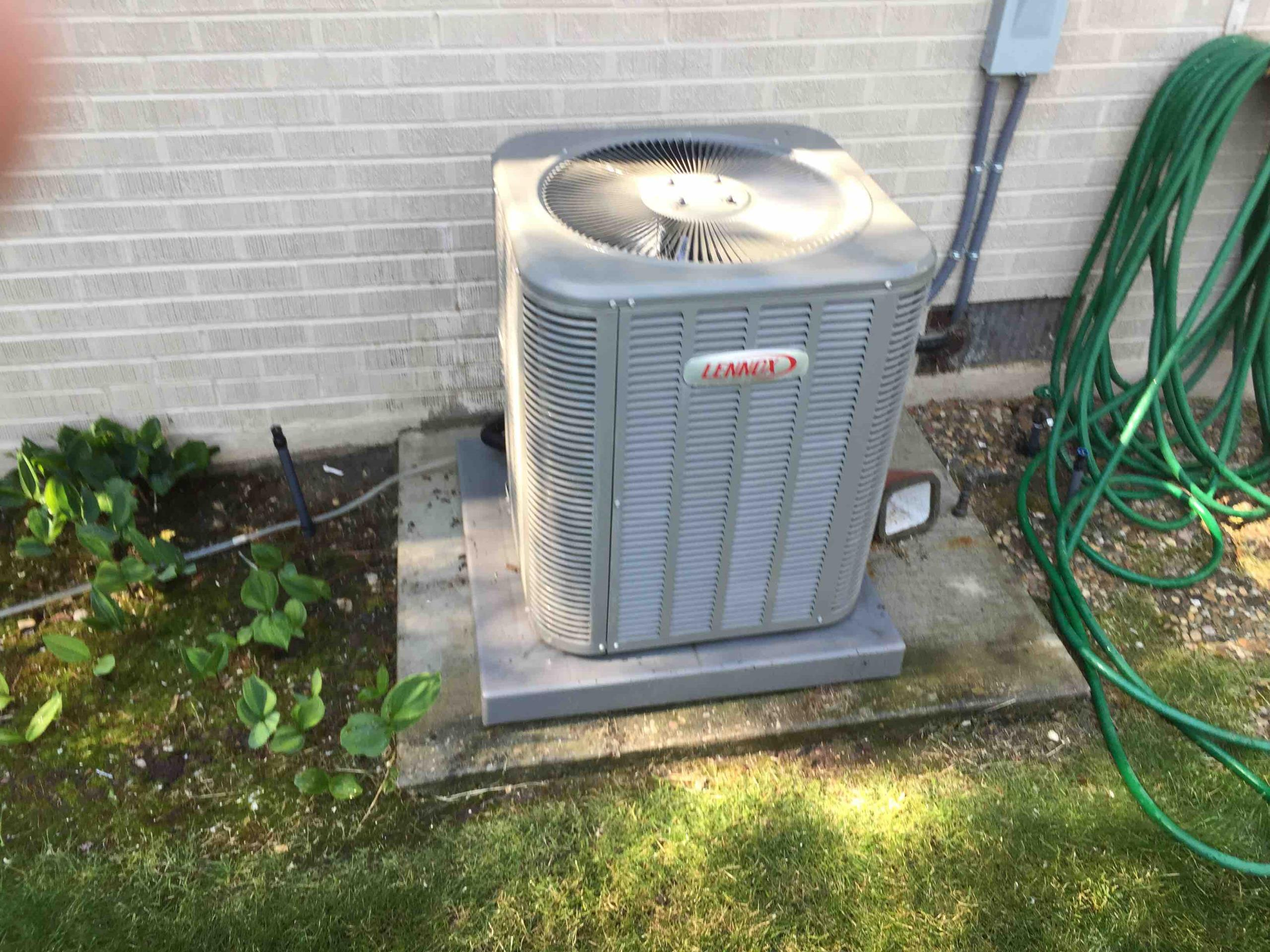 Holladay, UT - servicing a Lennox Air Conditioner