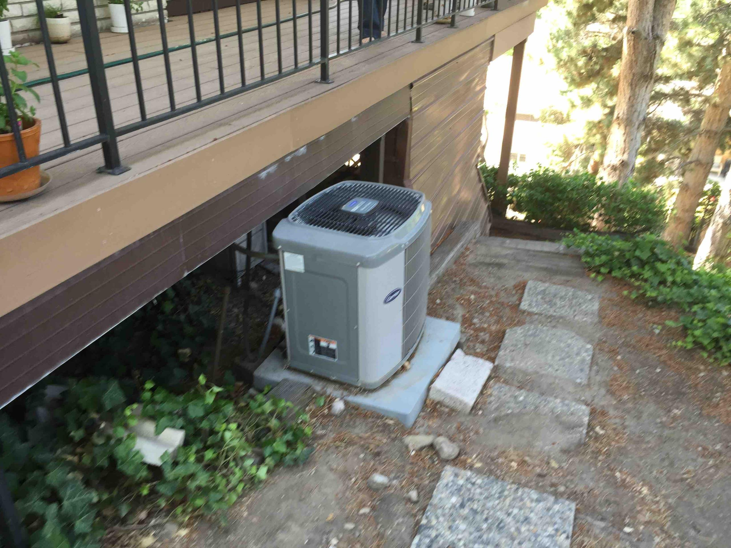Cottonwood Heights, UT - leak test system and recharged system.
