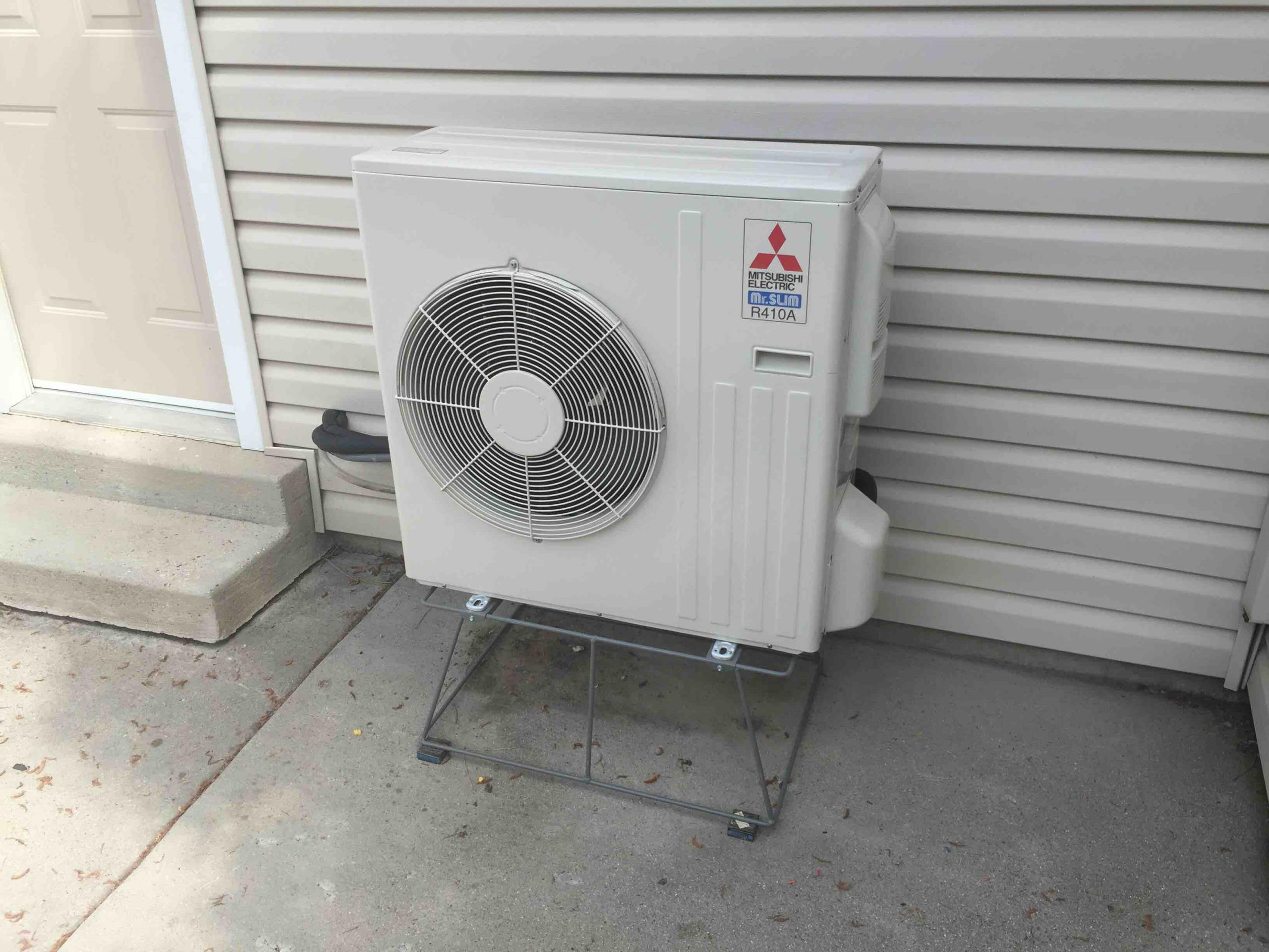 South Jordan, UT - Installed a new Mitsubishi ductless split air conditioner