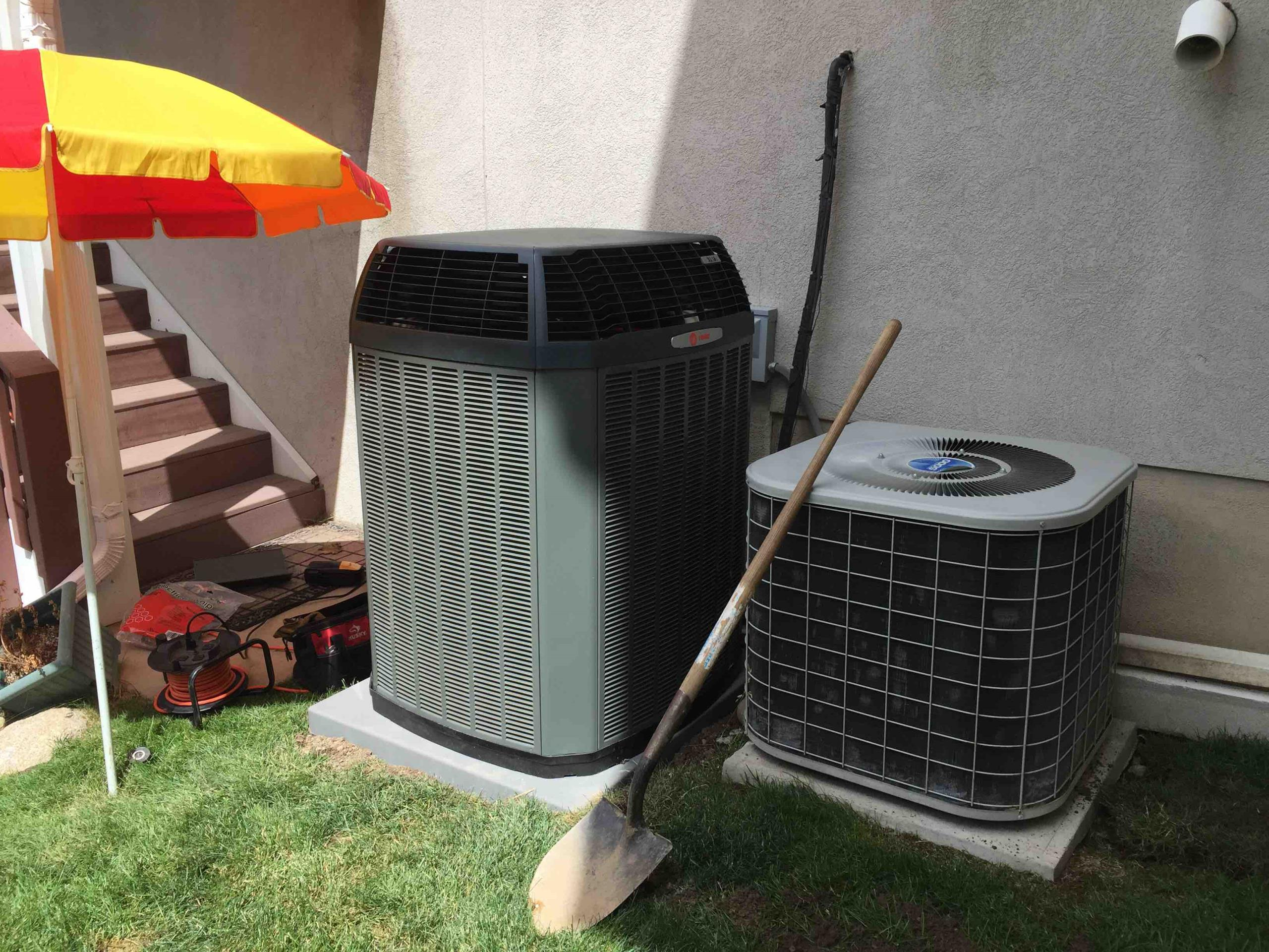 Cottonwood Heights, UT - install new coil and trane xl 16i condenser.