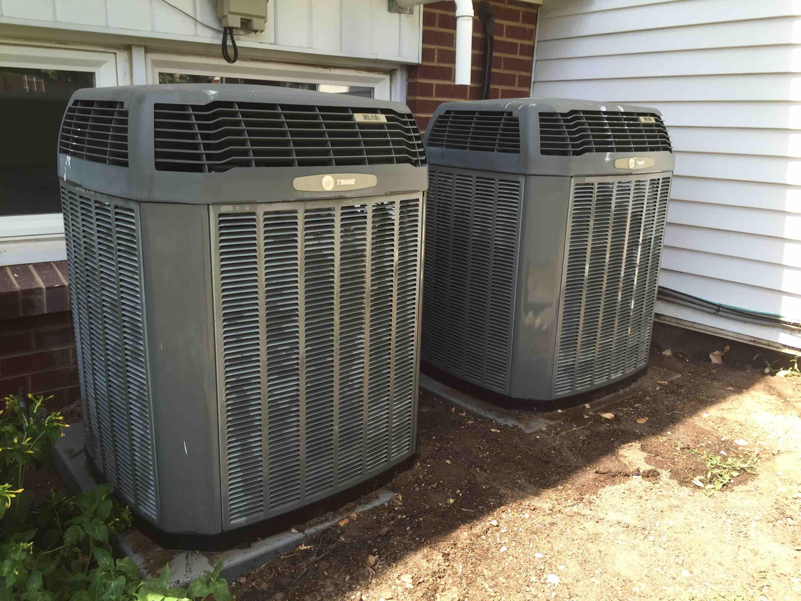 Holladay, UT - a/c service. tune up on to trane condensers and installed a new condensate pump on one of the systems.