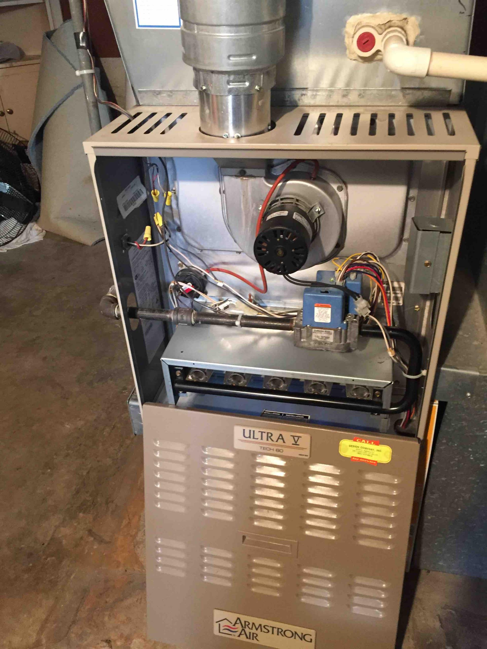 Salt Lake City, UT - annual maintenance and cleaning of an Armstrong furnace