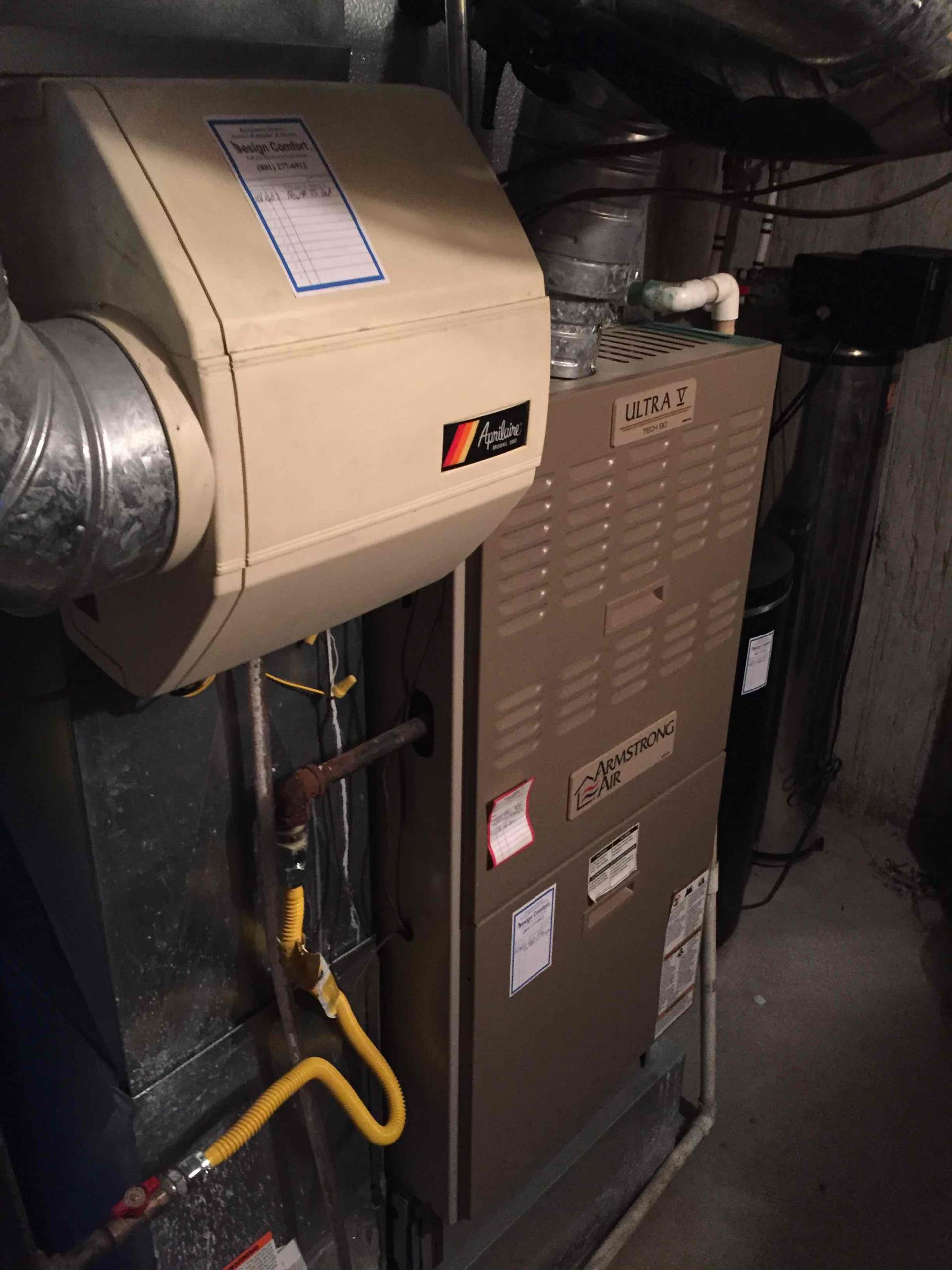 Sandy, UT - service on a Humidifier Armstrong Furnace and water softener