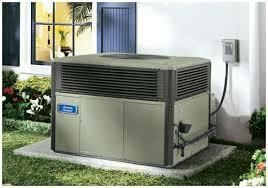 Ooltewah, TN - AC repair. American standard gas package air conditioning unit.