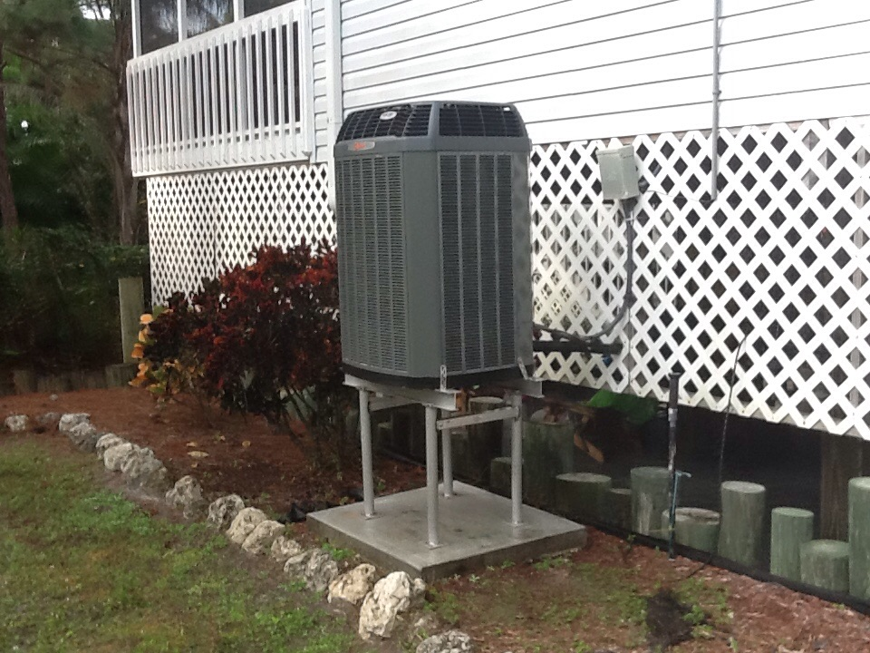 Bokeelia, FL - AC maintenance on Trane system