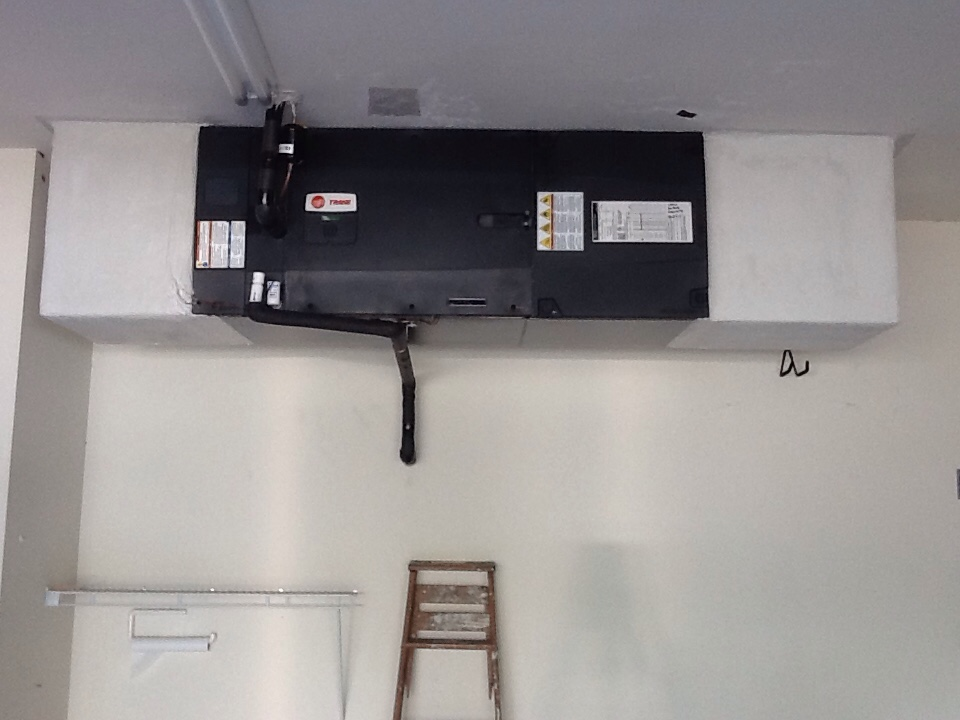 Bokeelia, FL - Installing a trane air conditioning system