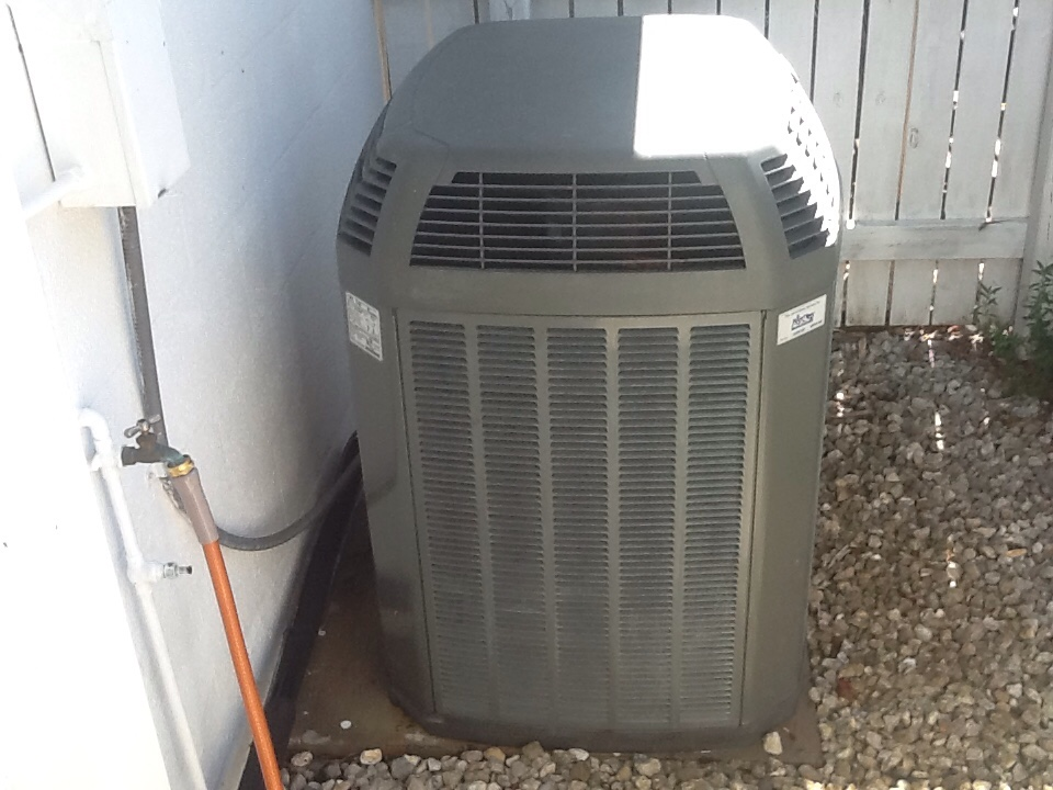 Saint James City, FL - Ac maintenance on Trane