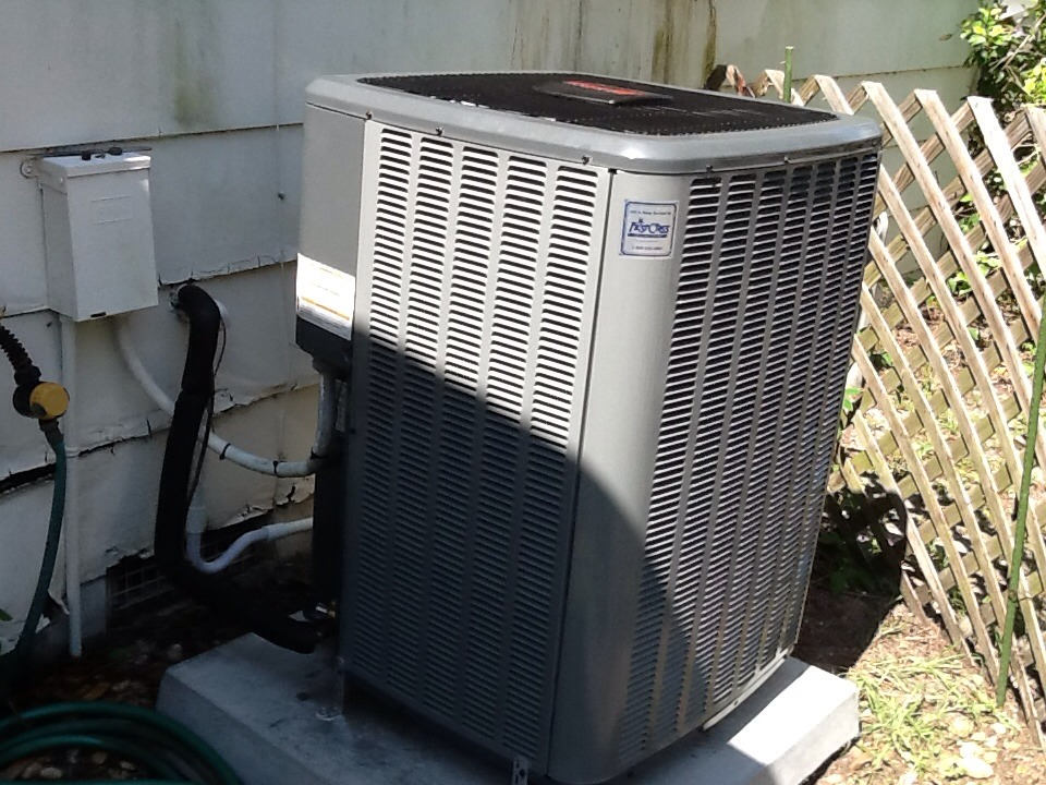 Bokeelia, FL - Here to install 16 seer Goodman air conditioning system