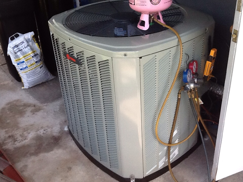 Lehigh Acres, FL - new ac installation service call Replaced trane air conditioner