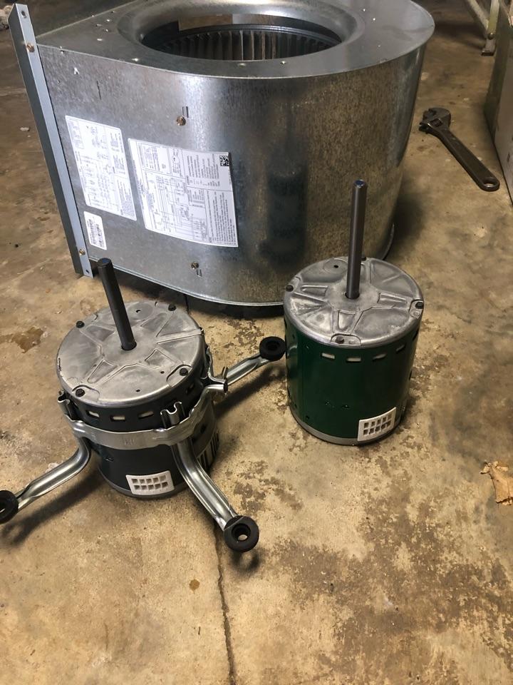 Replace x13 blower motor