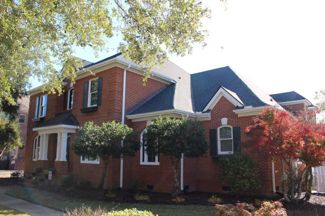 Newport, NC - Roof replaced with CertainTeed  Landmark Moire Black