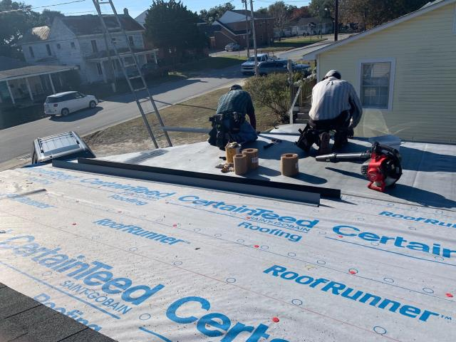Morehead City, NC - Roof replacement with CertainTeed Landmark in Georgetown Gray
