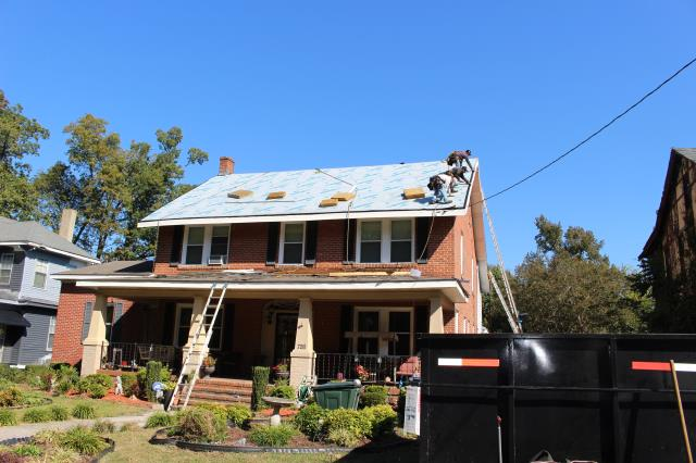 Rocky Mount, NC - Roof replacement with GAF Timberline in Hickory