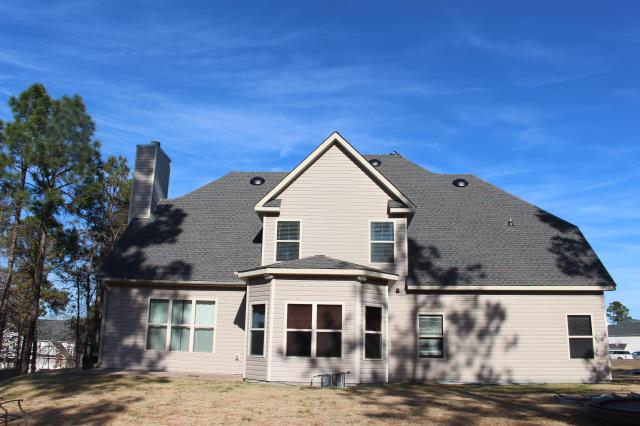Sanford, NC - GAF Timberline HD in Williamsburg Slate for this 50 sq. home