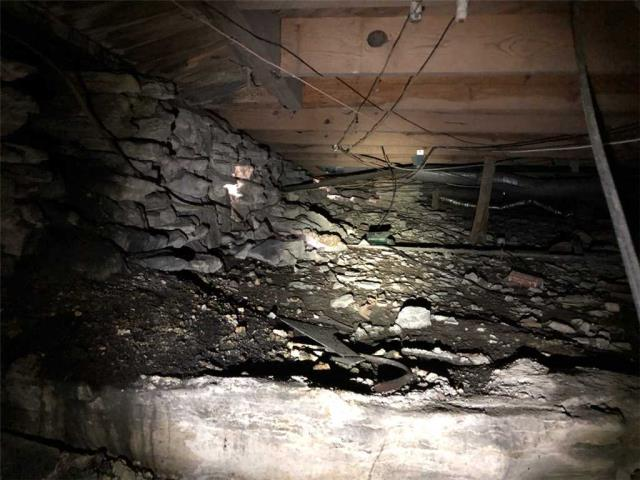 Inspection in Crawlspace