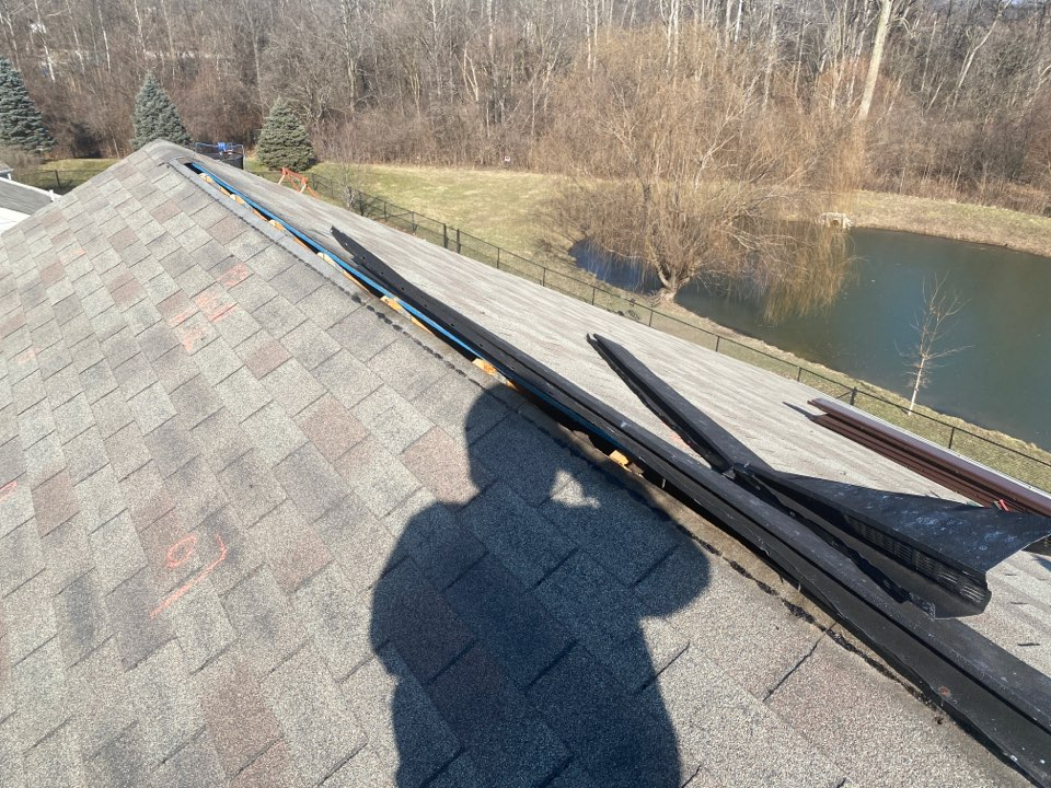 Indianapolis, IN - Doing a small Ridge vent repair