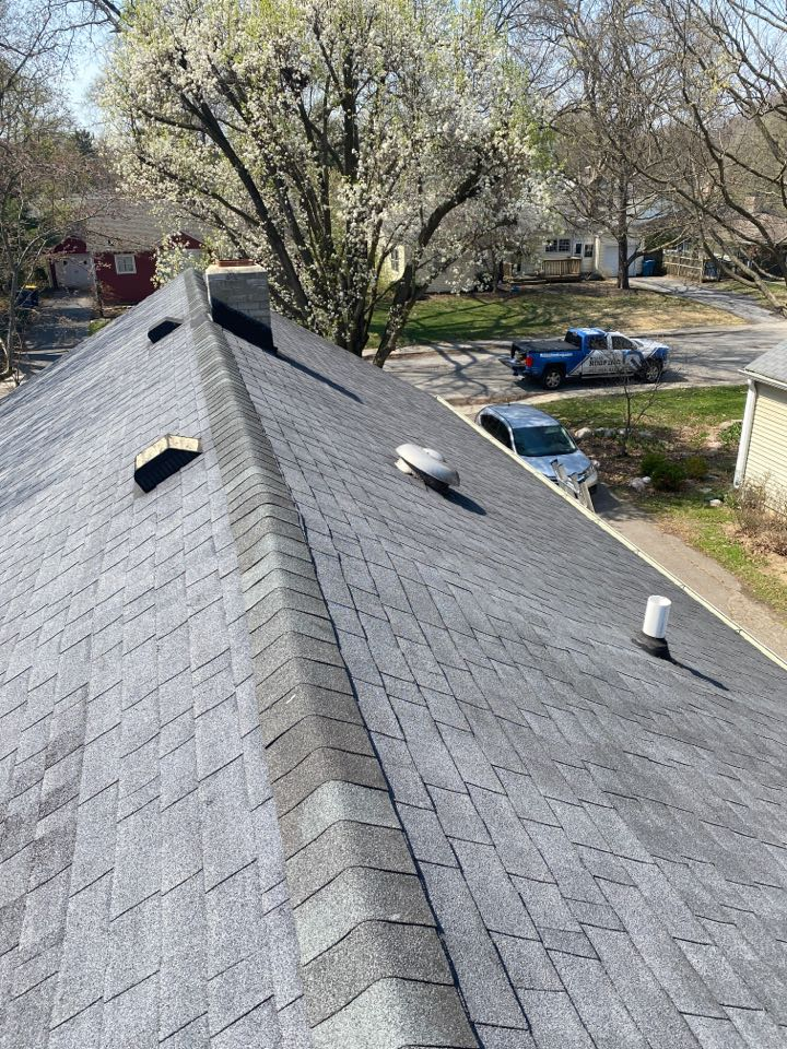 Indianapolis, IN - Inspecting property for hail damage
