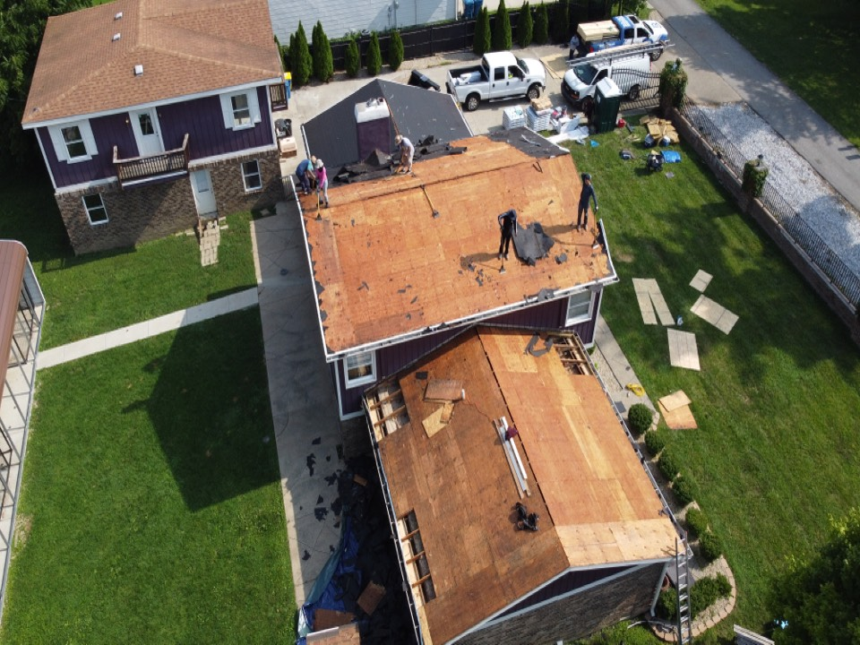 Indianapolis, IN - Supervising a installation project. We are doing roof, gutters, and paint. Insurance cover the cost of the roof for this project.
