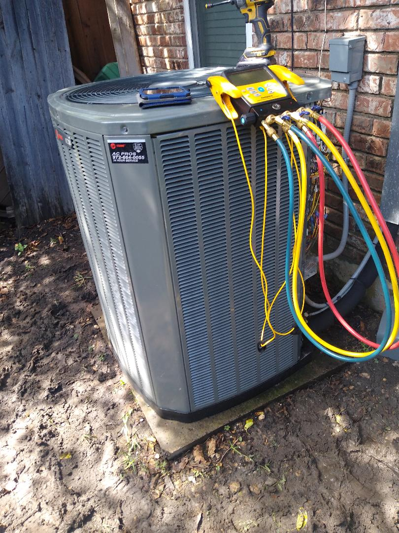 Garland, TX - AC maintenance on Trane system in garland