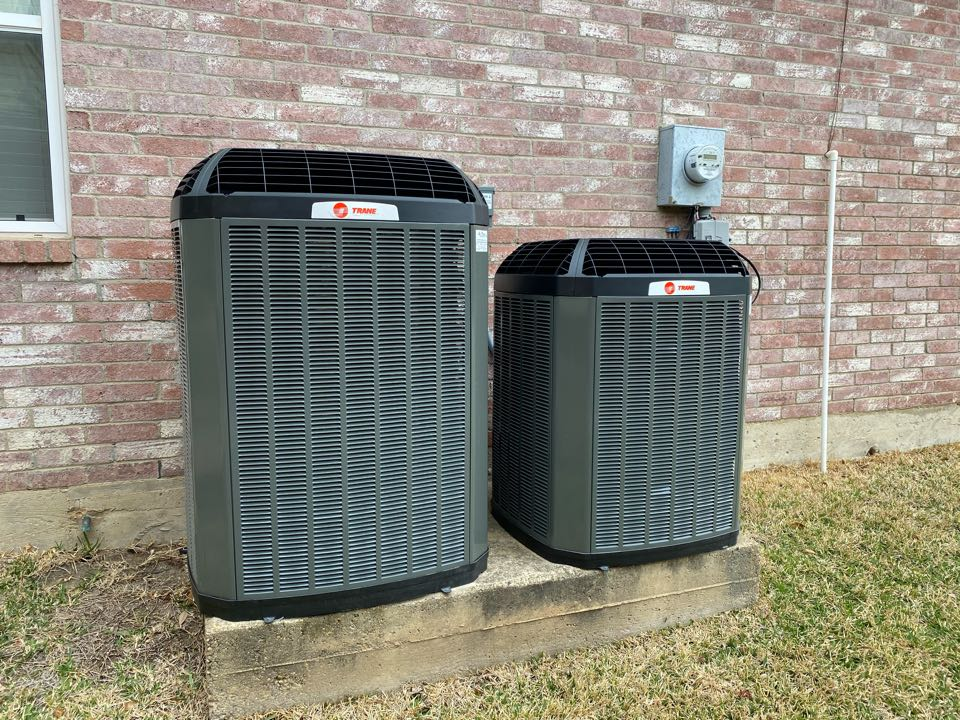 Richardson, TX - Replace systems with Trane XL16i