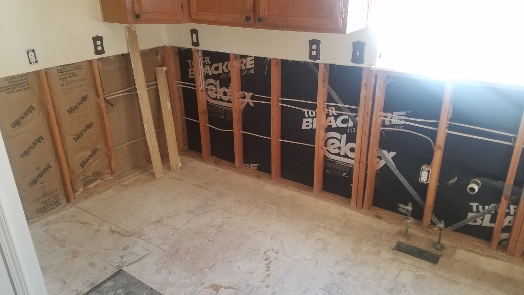Caldwell, ID - Mold removal. Water damage. Kitchen remodel