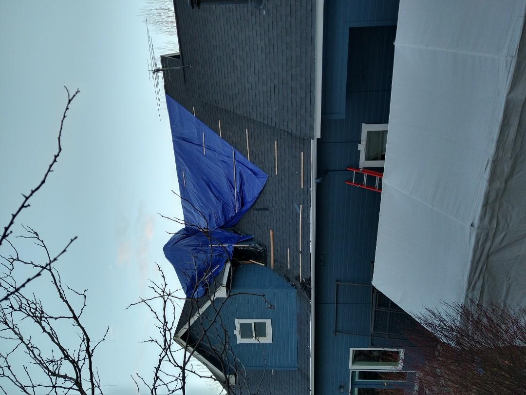 Eagle, ID - Fire damage. Chimney fire. Water damage