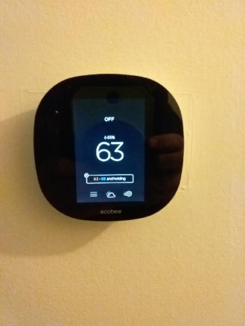 Clayton, NC - Replacing honeywell thermostat