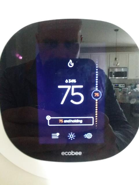 programming ecobee smart thermostat