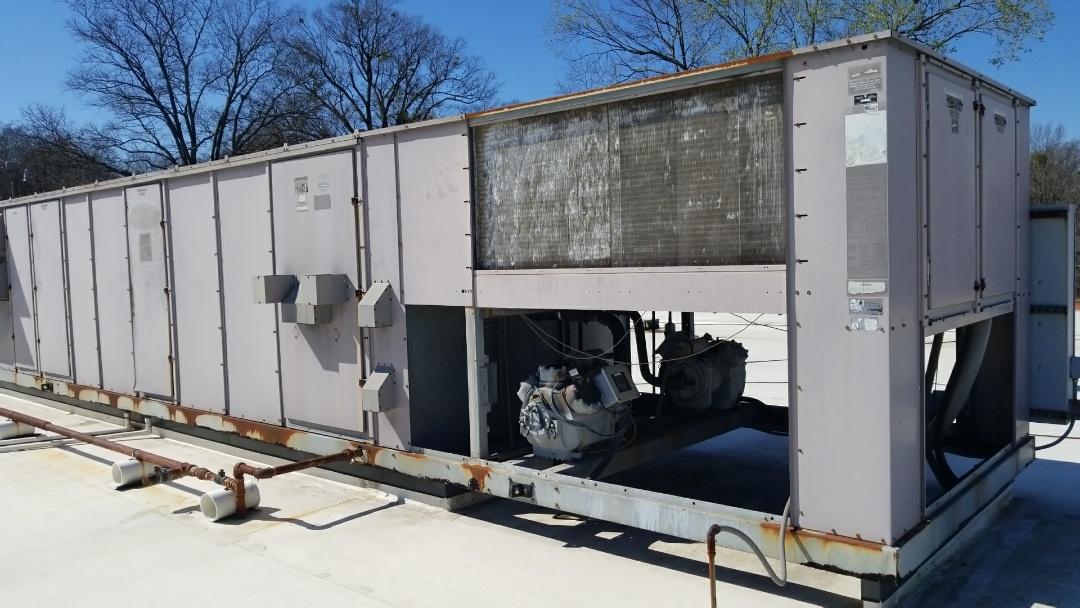 Raleigh, NC - Repairing 20 ton ac on Glenwood south