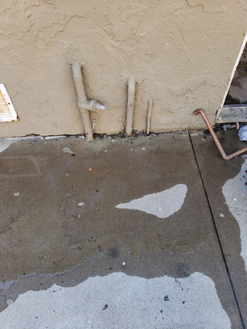 El Cajon, CA - Commercial water heater repairs and slab leak in El Cajon.