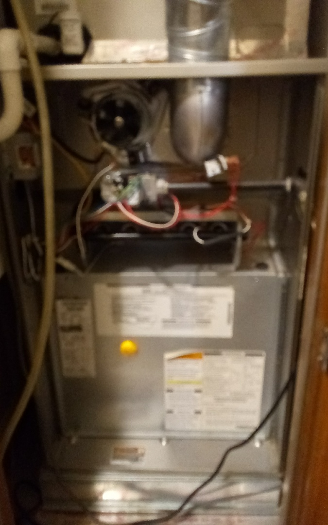 El Paso, TX - Preventative maintenance, Checked for gas at valve, on and no leaks. Changed filter 20x25x1. Cleaned flame sensor and burner orifices. Checked electrical and controls, amps are fine and communication is fine. Checked safety devices, all ok. Cleaned around unit. Visually inspected sequences of heating mode, all ok. Checked for carbon monoxide, none. Clocked gas meter, heater working fine.