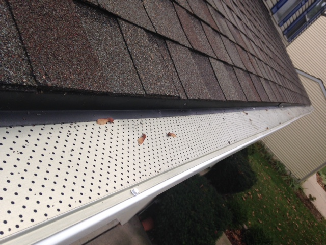 Chantilly, VA - Leaf relief gutter guard install in Chantilly VA