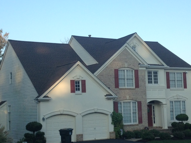 Chantilly, VA - Roof Replacement in Chantilly VA GAF Timberline HD Barkwood
