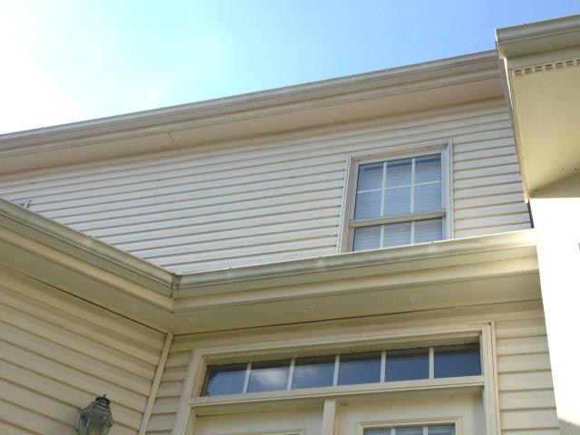 Chantilly, VA - Circle soffit vent installation in Chantilly VA