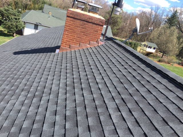 Sterling, VA - New Roof  GAF Timberline Charcoal