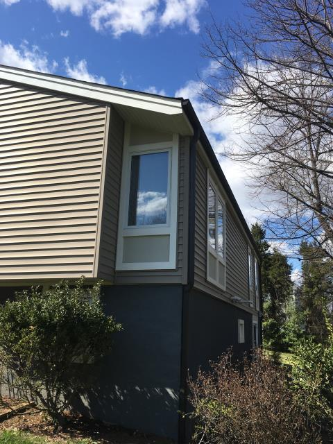 Sterling, VA - completed siding repairs