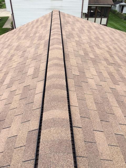 Sterling, VA - New Roof replacement GAF Sovereign Golden Cedar