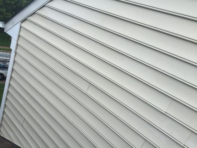 Sterling, VA - Siding repair completed