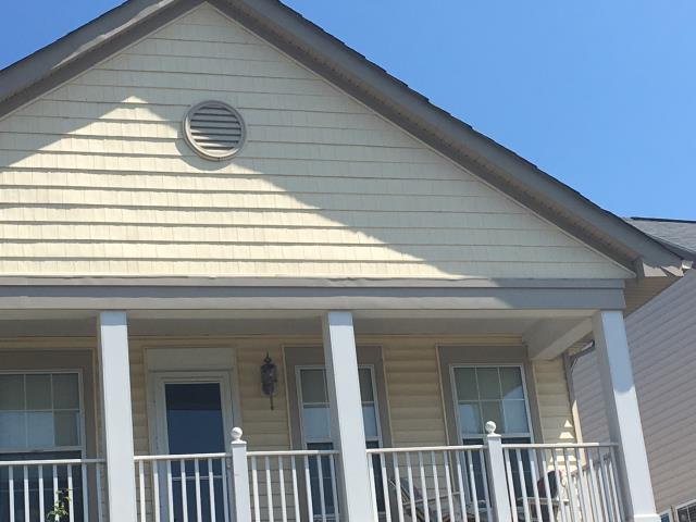 Ashburn, VA - Trim and siding repaired due to wind damage